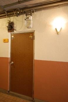 賃貸アパート 外観各戸ドア