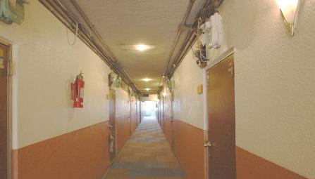賃貸アパート 外観廊下2