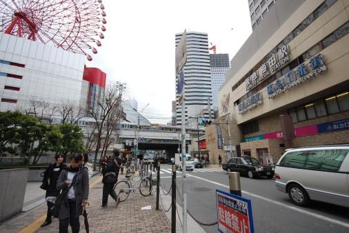 大阪へ園田から自転車で 阪急大阪梅田駅