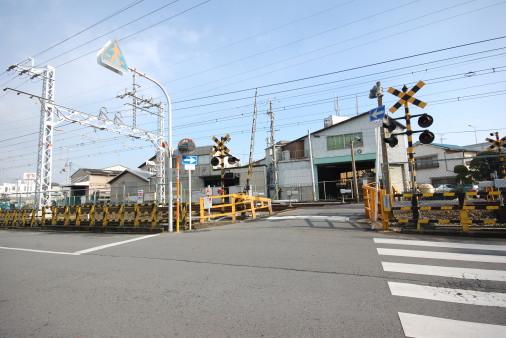 大阪へ園田から自転車で 豊中付近