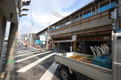 大阪へ園田から自転車で 神崎川駅
